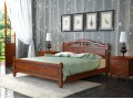 Кровать Карина-5 Орех 900х2000