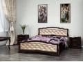 Кровать Карина-10 Орех темный 1600х2000