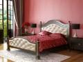 Кровать Клеопатра Орех темный 1400х2000