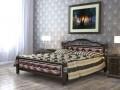 Кровать Карина-11 Бриллиант Орех темный 1400х2000