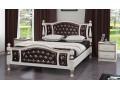 Кровать Жасмин Дуб молочный 1400х2000